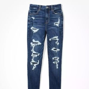 American Eagle high rise curvy jegging jeans